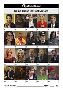 30 rock tv show actors picture trivia round