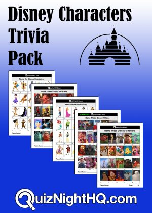 disney movie characters trivia picture round