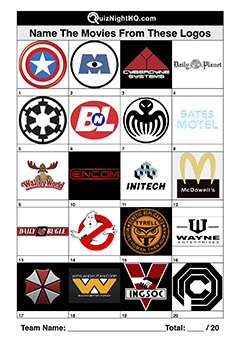 logos fiction movies trivia picture round