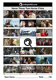 tom hanks film stills trivia picture round