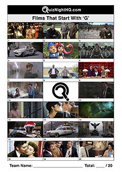 movie screenshot trivia films starting with g quiz