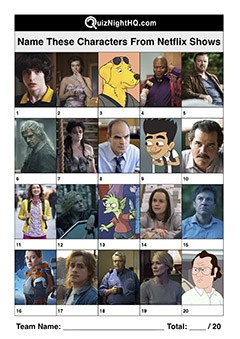 characters from netflix shows trivia picture round