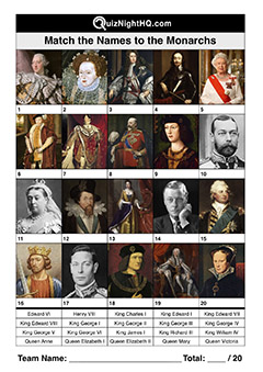 english royal match trivia picture round